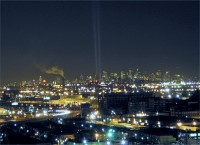 WTC Lights from Newark