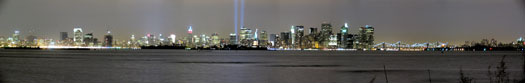 Panorama of WTC Lights